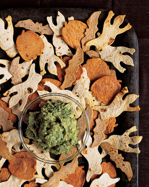 Guacamoldy with Creature Chips