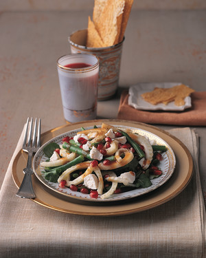 Pomegranate, Fennel, and Green Bean Salad
