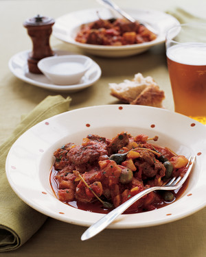 Lamb Stew with Jerusalem Artichokes