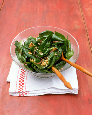 Spinach and Grilled Corn Salad