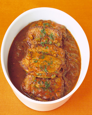 Creole Beef Grillades