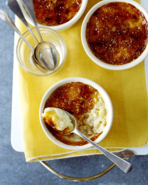 Caramelized Rice Puddings