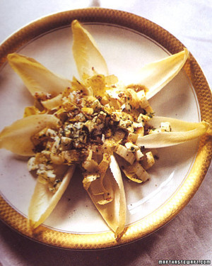 Endive and Grainy Mustard Salad