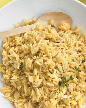 Rice Pilaf with Thyme