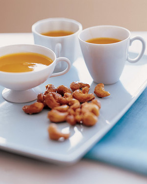 Butternut Squash and Sweet Potato Soup