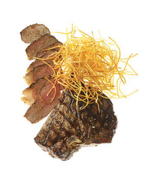 Steak with Shoestring Frites