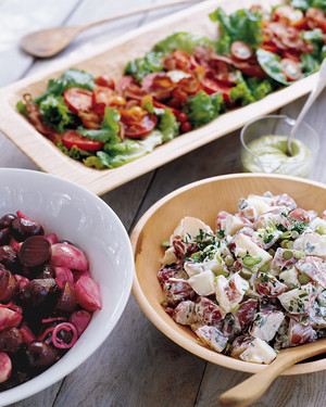 Roasted-Beet and Pickled-Red-Onion Salad