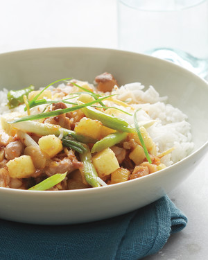 Stir-Fried Sweet-and-Sour Chicken