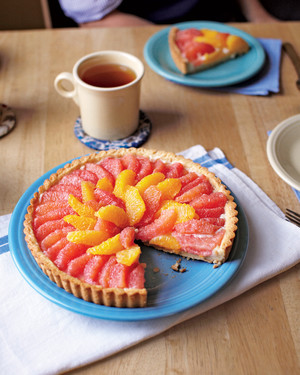 Triple-Citrus Tart