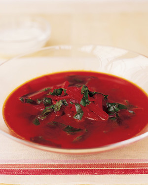 Beet Soup with Indian Spices