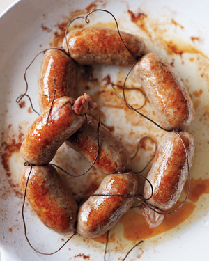 Hearty Pork Sausages