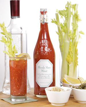 Homemade Bloody Mary Mixer