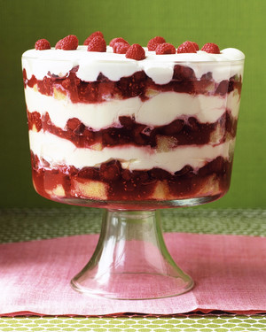 Grand Raspberry Trifle Recipe Martha Stewart