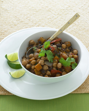 Two-Bean Vegetarian Chili