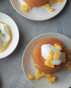 Ginger-Poached Fruit for Golden Cakes