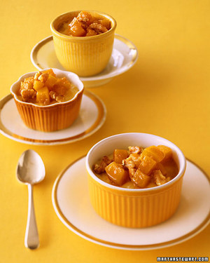 Rice Pudding with Candied Butternut Squash