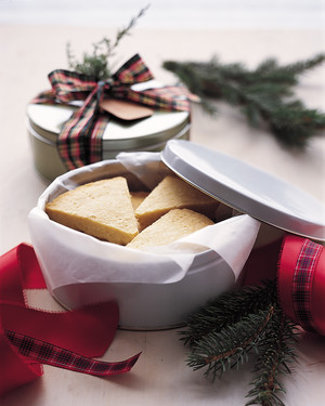 Basic Shortbread Wedges