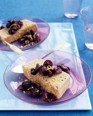 Semifreddo with Dried Cherries