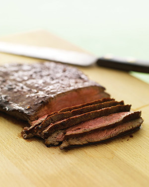 Soy-Glazed Flank Steak