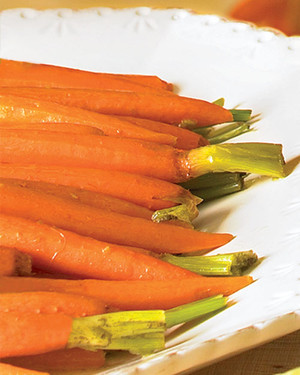 Glazed Carrots with Ginger and Jalapeno