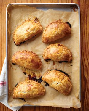 Moroccan Hand Pies with Eggplant and Apricots
