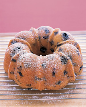 Blueberry-Lemon Bundt Cake