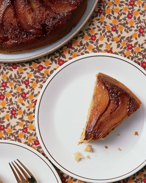 Perfect Pear Upside-Down Cake