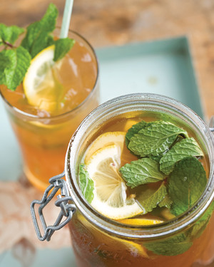 Lemony Spiked Sweet Tea