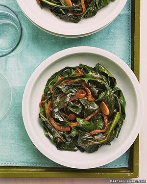 Wilted Dandelion Greens with Sweet Onion
