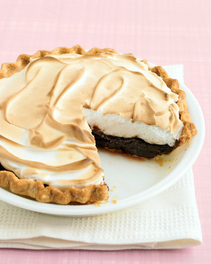 Quick Chocolate Meringue Pie