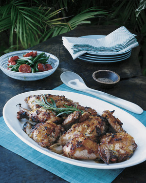 Sweet and Savory Baked Chicken with Pineapple and Tarragon