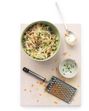 Sweet-and-Spicy Coleslaw