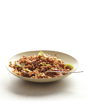 Wheat Berry Salad with Walnuts, Dates, and Celery