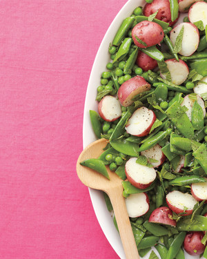 Peas and Potatoes with Mint