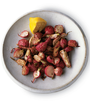 Roasted Radishes with Capers and Anchovies
