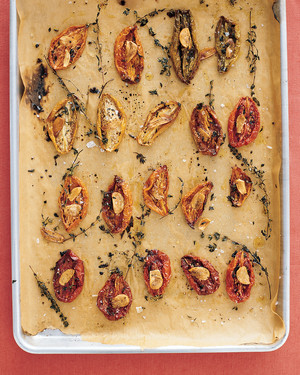 Oven-Dried Tomatoes with Thyme