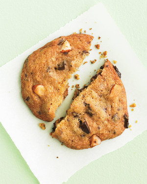 Chocolate-Chunk Cookies with Almonds