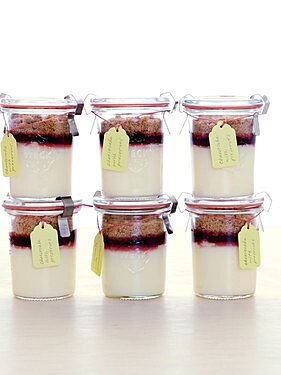 Mini Cheesecake Jars Martha Stewart