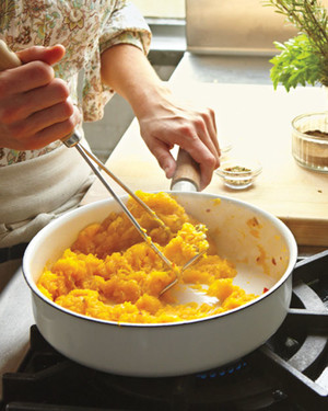 Mashed Pumpkin with Cumin and Maple
