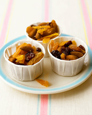 Warm Fruit and Nut Snack