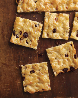 Focaccia with Dried Fruit and Rosemary