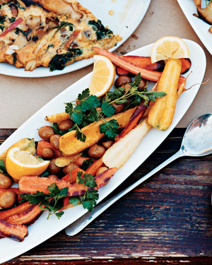 Carrots with Parsley and Olives