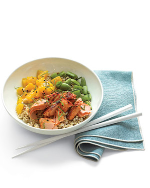 Salmon and Citrus Rice Bowl