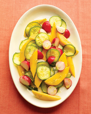 Mango and Radish Salad with Lime Dressing