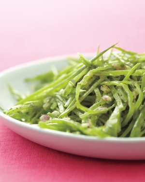 Snow Pea Salad with Shallot and Tarragon