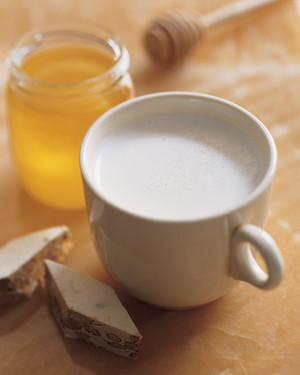 Toasted Almond Milk with Honey
