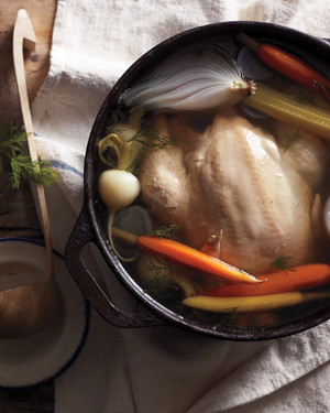 Simmered Chicken with Root Vegetables