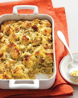 Roasted-Parsnip Bread Pudding