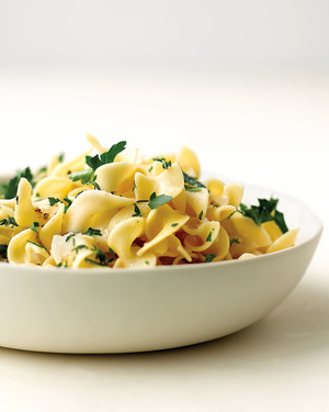 Egg Noodles with Fresh Herbs
