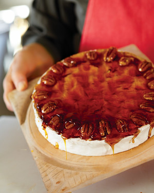 Caramel-Coated Brie
